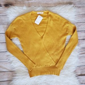 🆕️ ELODIE V-NECK LONG SLEEVE SWEATER